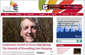 Rob Ellis to Offer Advice at CLA Event Highlighting The Potential of Diversifying Into Glamping